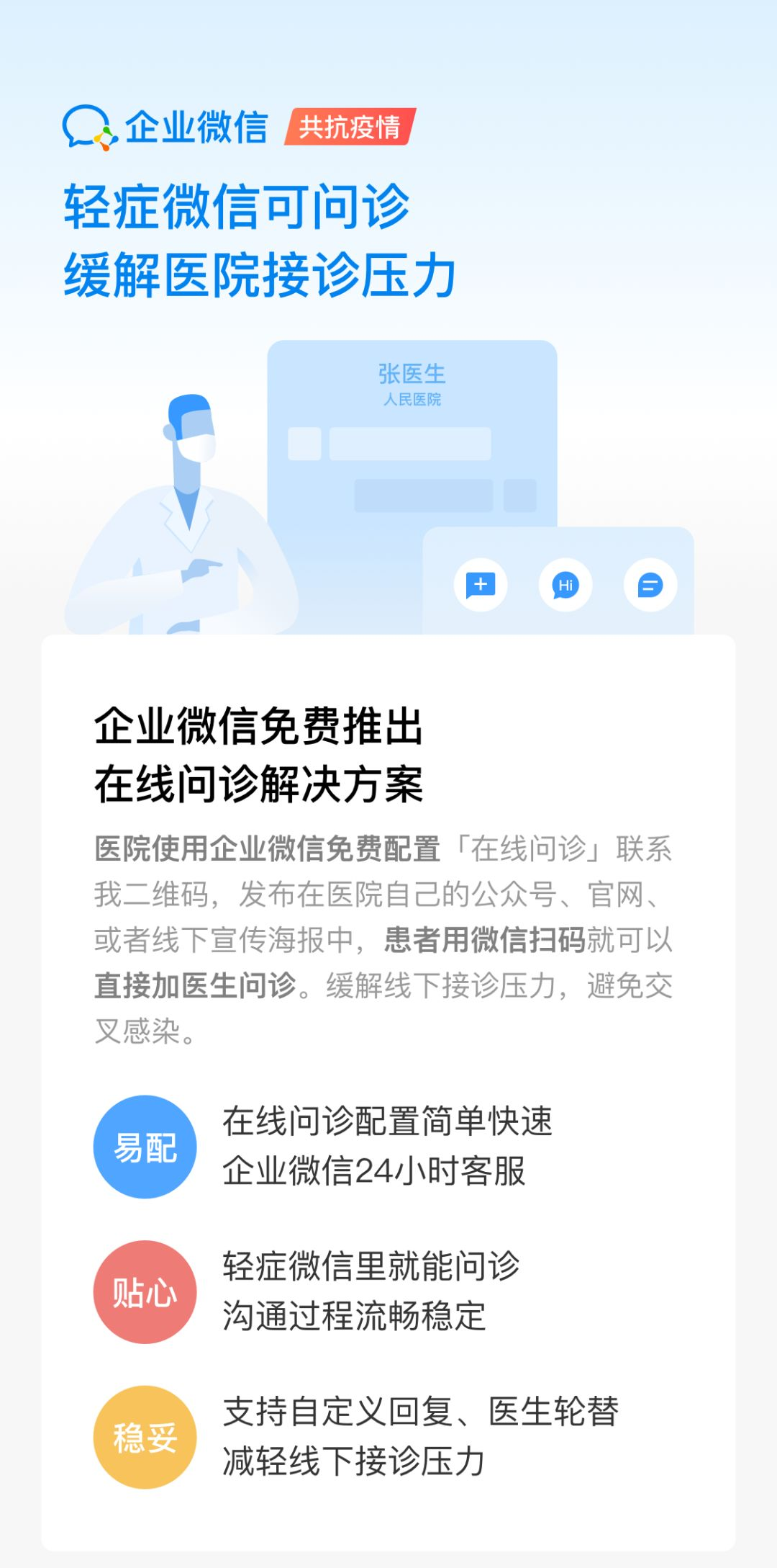 【收藏】医院如何快速开通在线问诊?